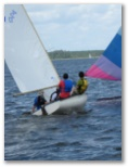 Sailing at Bonner