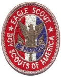 Boy Scout Eagle Patch